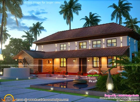Pure Kerala Traditional Farmhouse