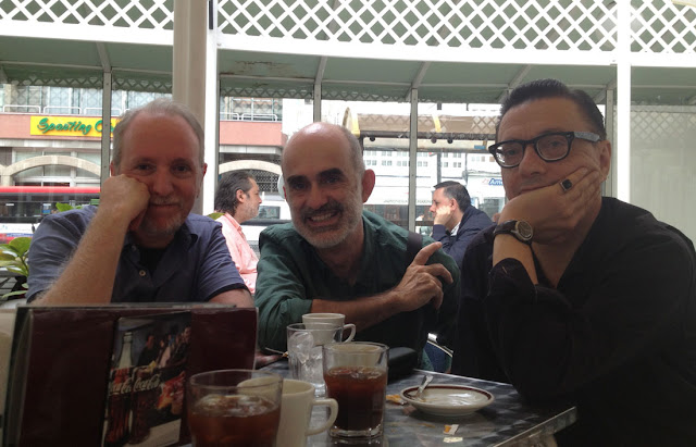 Con Javier Olivares y Keko