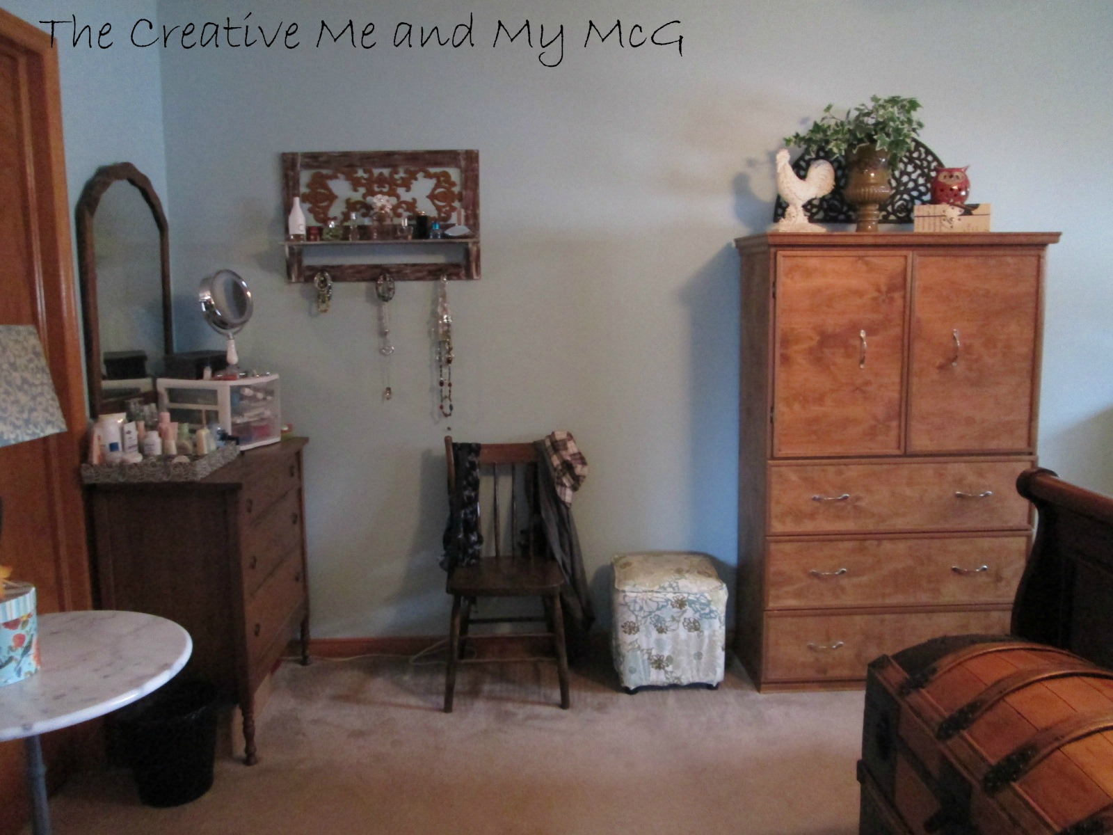 The Creative Me and My McG: No Cost Changes in the Master Bedroom!