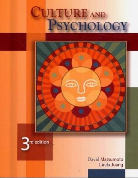 Culture And Psychology  3 Edition