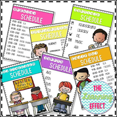 https://www.teacherspayteachers.com/Product/Daily-Classroom-Schedule-Signs-Editable-2132794