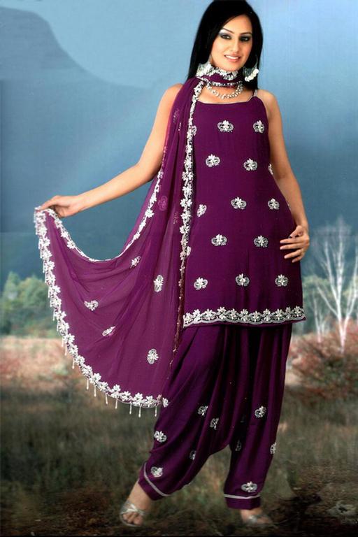 Latest Punjabi Salwar Suits Design