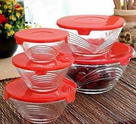 Roxx Red Champ Bowl Set of 5 Pcs for Rs.149 Only with Free Shipping @ Pepperfry