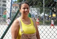 """Tatiana de Oliveira: """"A praça estava fazendo falta"""""""