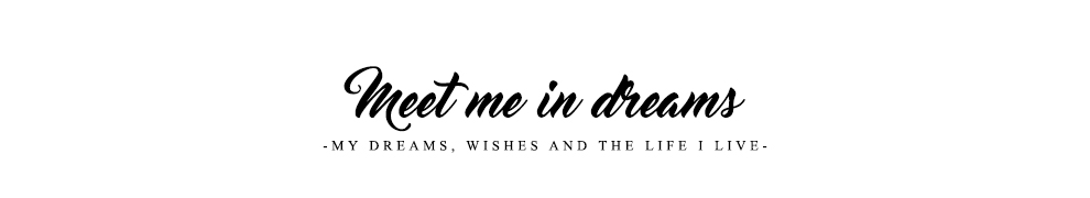Meet me in dreams