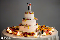 Autumn Wedding Cake Toppers