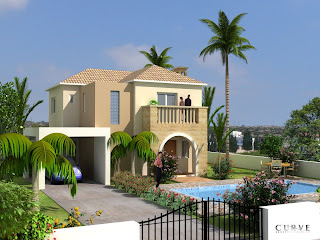 New home designs latest.: Cyprus ayianapa modern home designs.