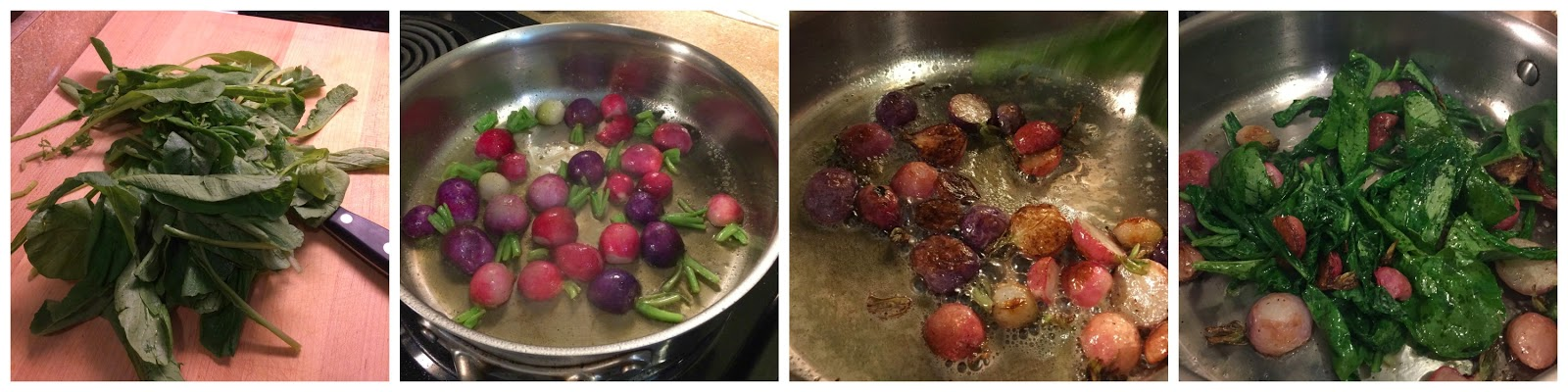 how to cook radishes in the oven