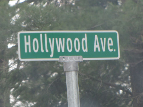 Hollywood Avenue Sign