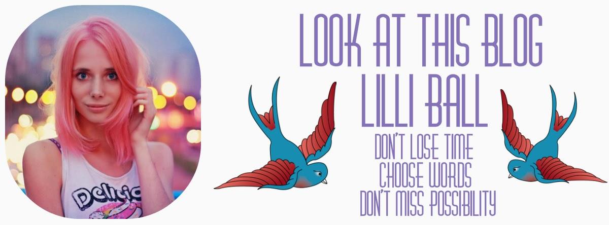 Look at this blog. Lilli Ball