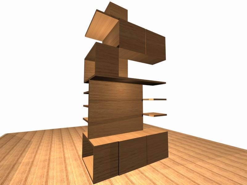 Diseño para un mueble en la columna diseño de interiores.