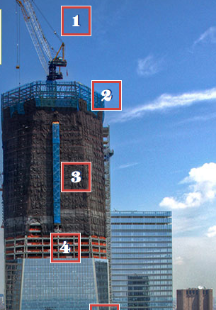 When The $3 Billion One World Trade Center (WTC), Formerly Known As The Freedom  Tower, Is Completed, The Structure Will Reach 105 Floors And 417 Meters, ...