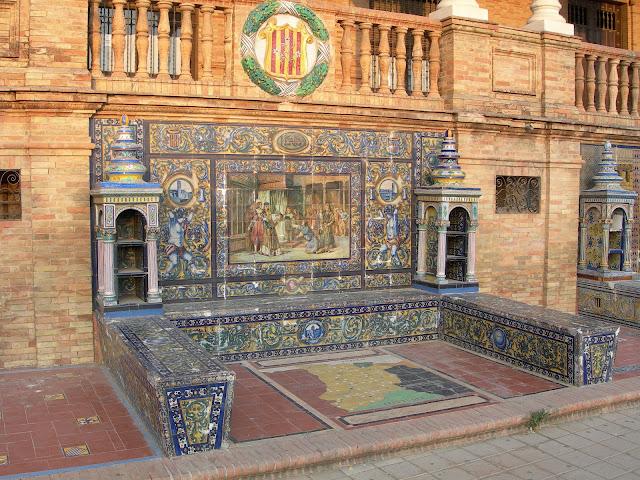 La Plaza de España di Siviglia | 1914-1928