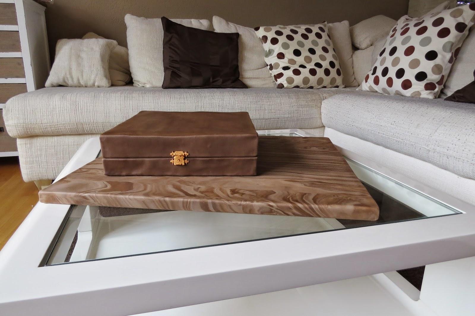 Holzmaserung Cakeboard