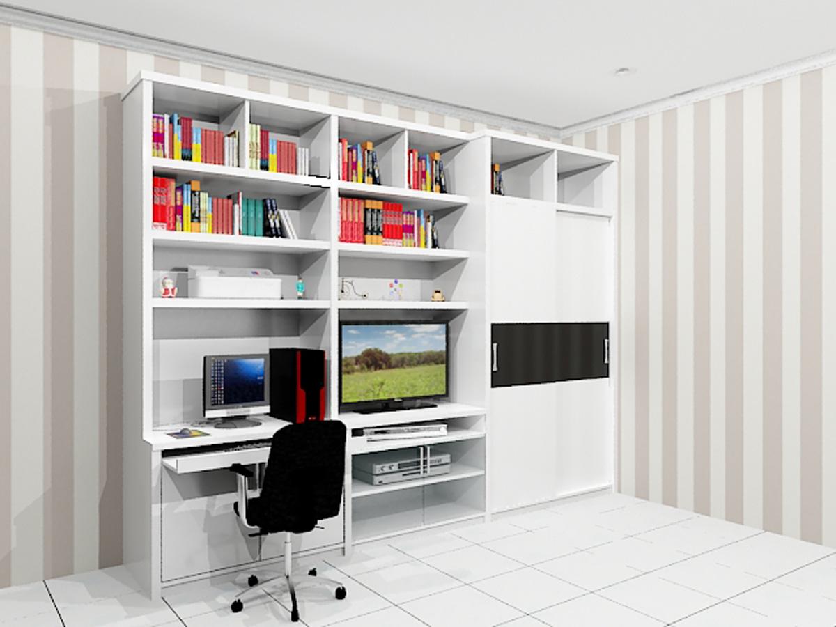 RAK BUKU MULTIFUNGSI Dian Interior Design