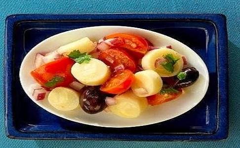 Ensalada fria con palmitos