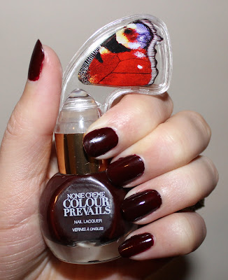 Nonie Creme Colour Prevails Nail Lacquer in Wine O'Clock