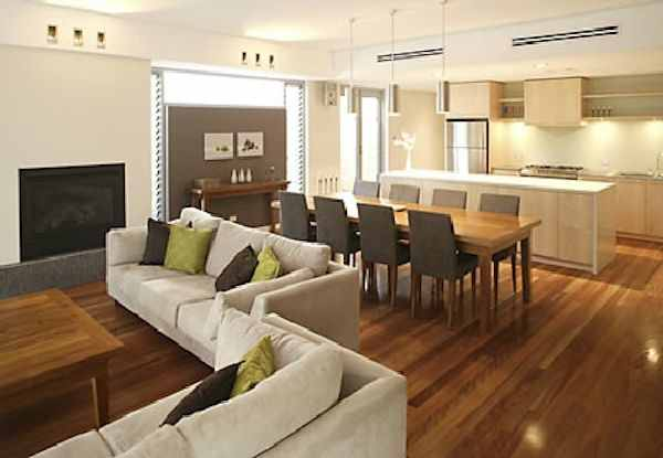 Rizkimezo 15 decorating a small living room dining room for Living room and family room combo
