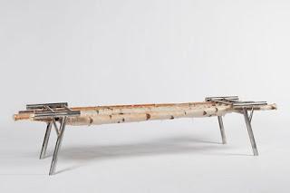 Banco Sostenible, Diseño Original, Muebles de Madera