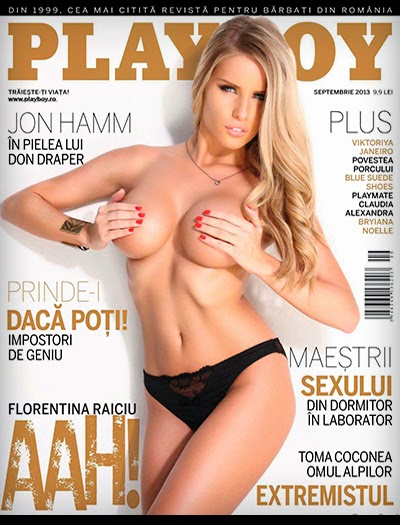 Flori Raiciu - Playboy Romania - Setembro 2013