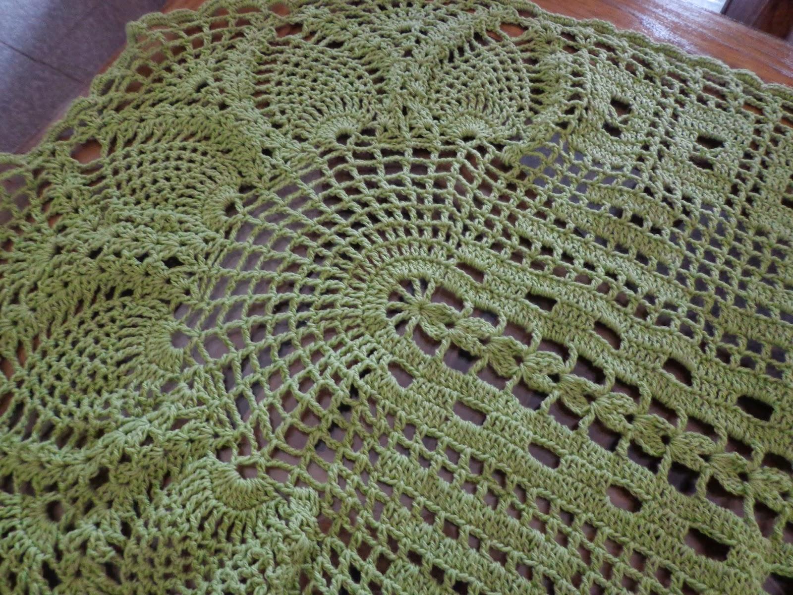 fa39fa29c8d5d Nuevamente con ustedes para traerles una bella carpeta al crochet