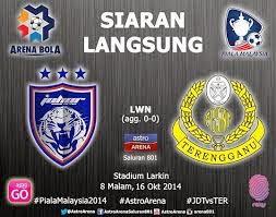 Keputusan Penuh JDT Vs Terengganu Suku Akhir Ke 2 Piala Malaysia 2014
