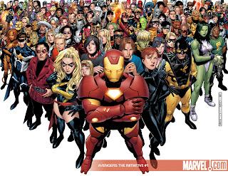 All Marvel Super Heroes HD Wallpaper