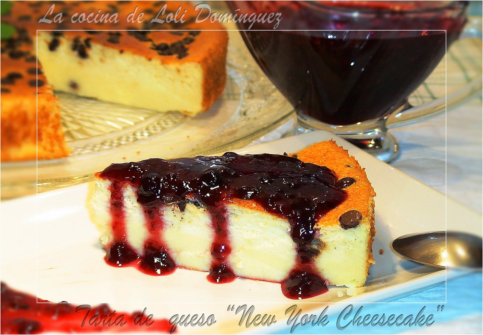 "Tarta de  queso ""New York Cheesecake"""