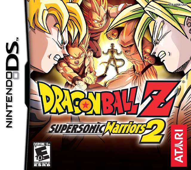 descargar juegos de dragon ball z para ds