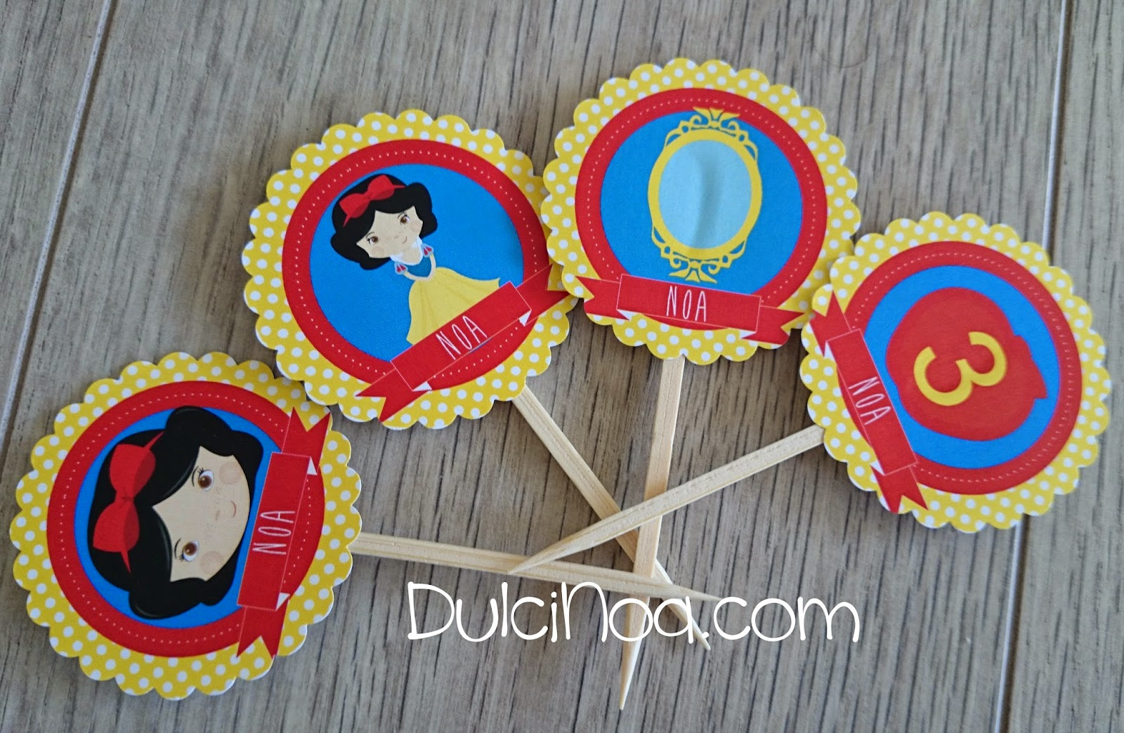 Toppers BlancaNieves