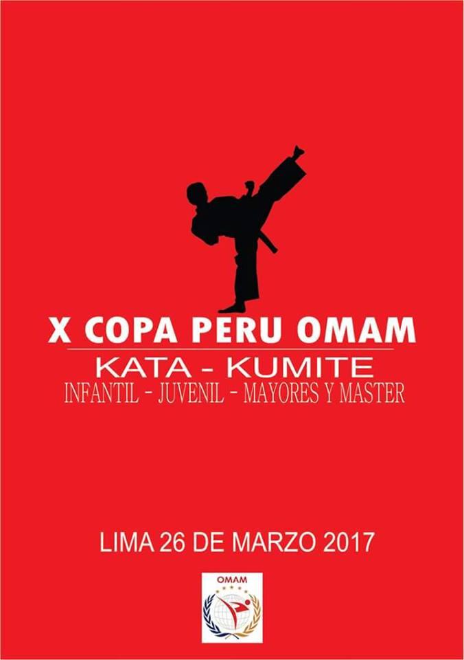 X COPA PERU OMAM  Lima-Perù