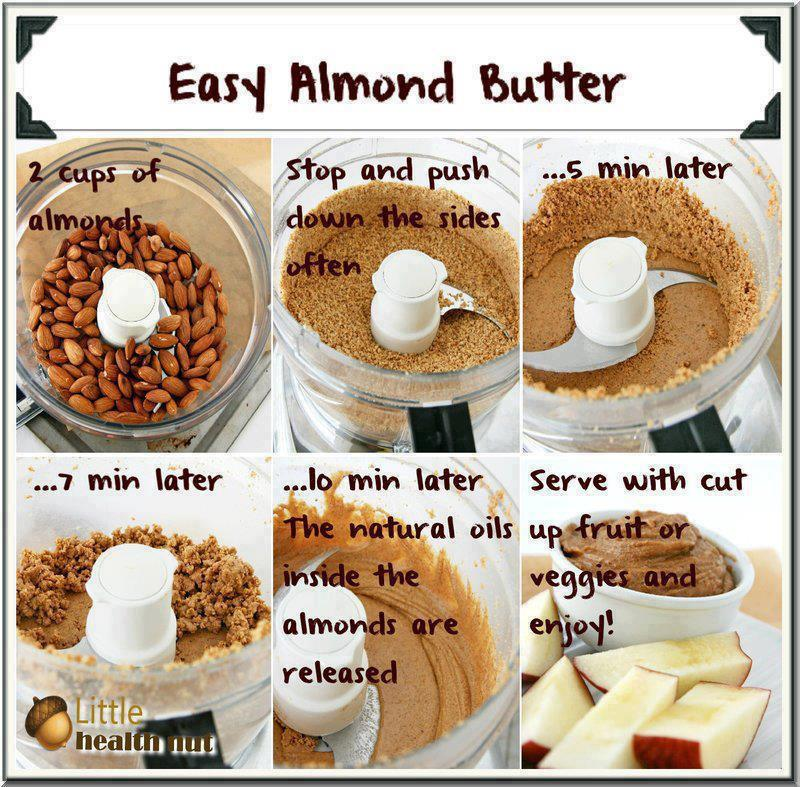 Healed by Herbs: Make Your Own Almond Butter