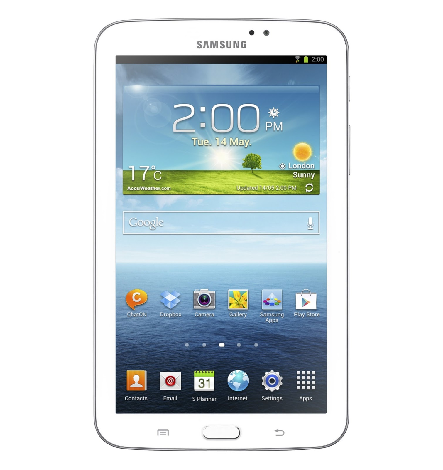 The Galaxy Tab 3 with 7-inch