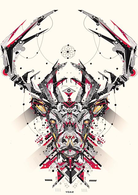 Las ilustraciones vectoriales de Yo Az