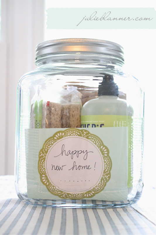 Housewarming gift in a jar coordinately yours by julie What is house warming