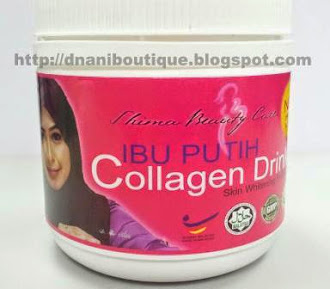 IBU PUTIH COLLAGEN DRINK - Chocolate Flavor
