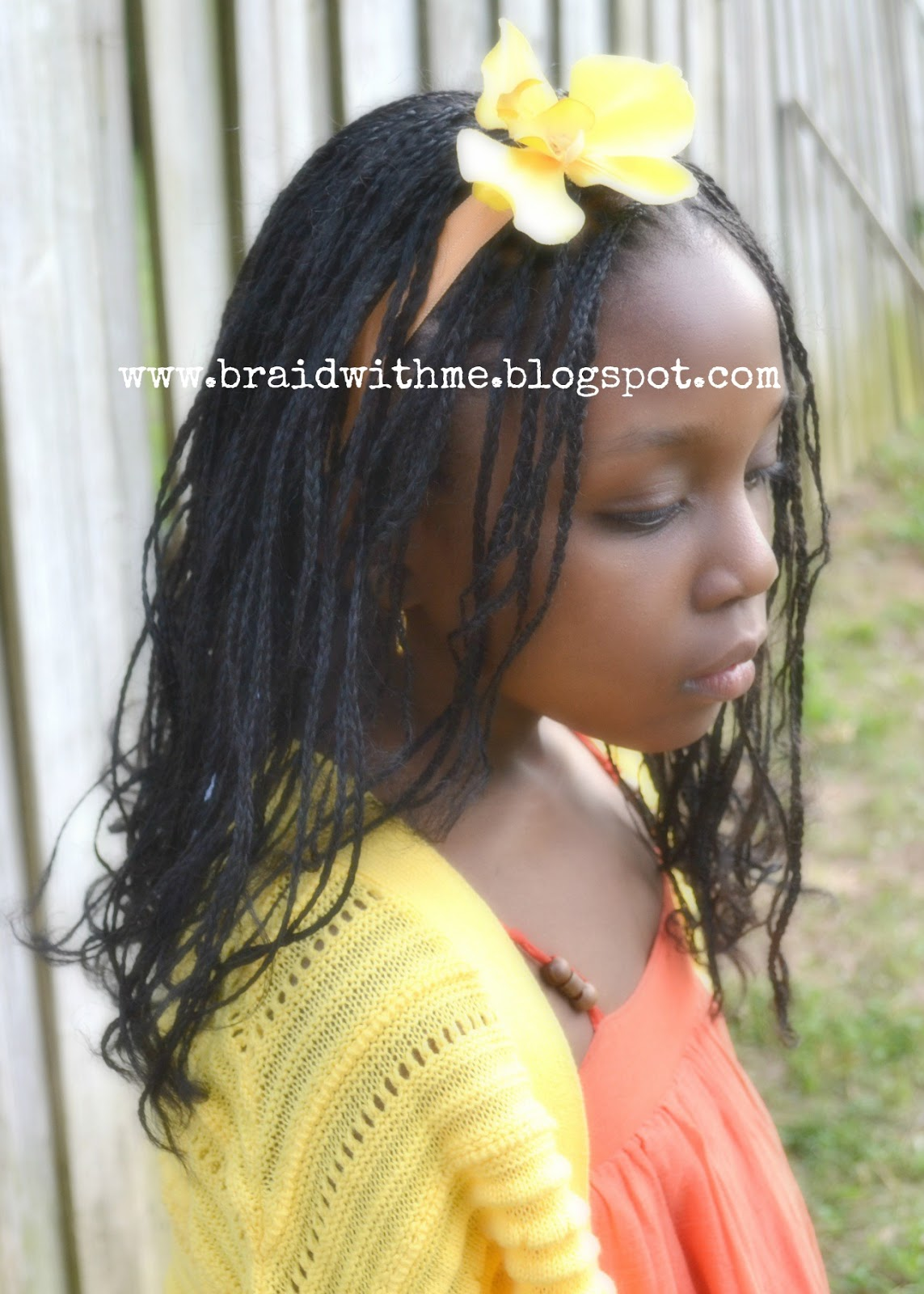 Box Braids for Girls + iheartcurls Review title=