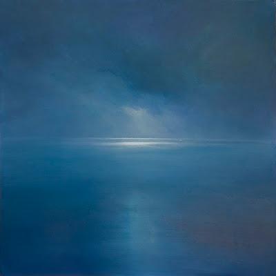an oil seascape painting by artist Colin Barclay of the sea near Newfoundland