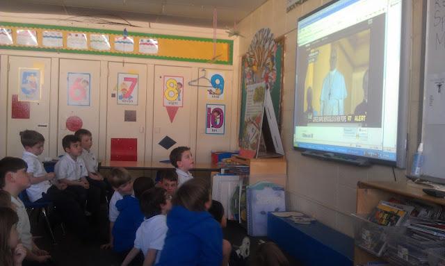 Montgomery Catholic Preparatory School Welcomes Pope Francis! 1