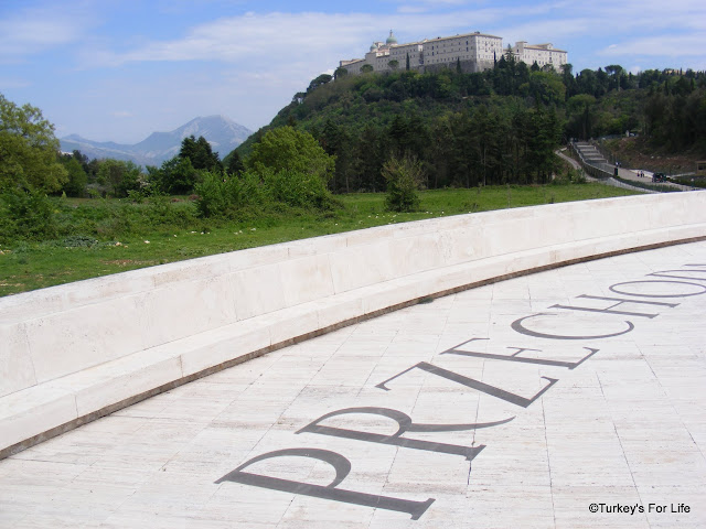 Monte Cassino From The Polish Cemetary, Italy