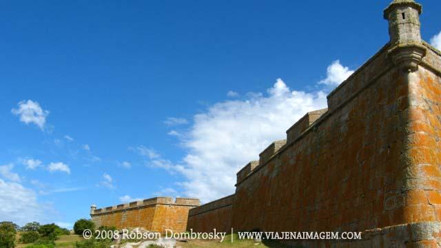 viagem de moto - fortaleza de santa tereza no uruguai
