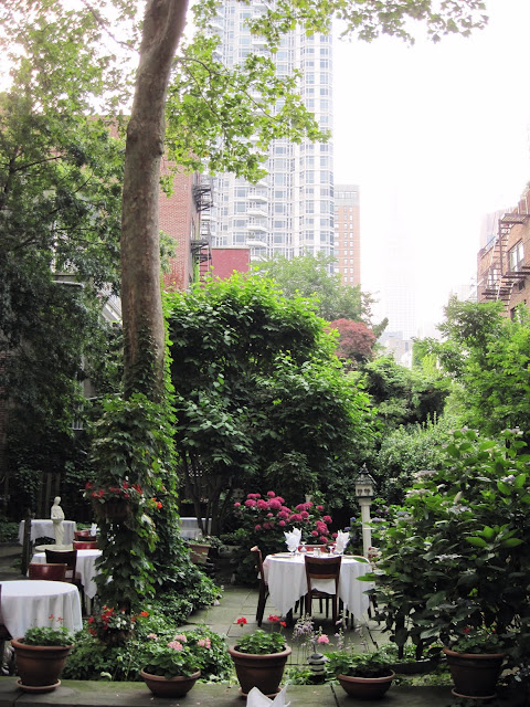 Marchi's Restaurant New York City Midtown Garden