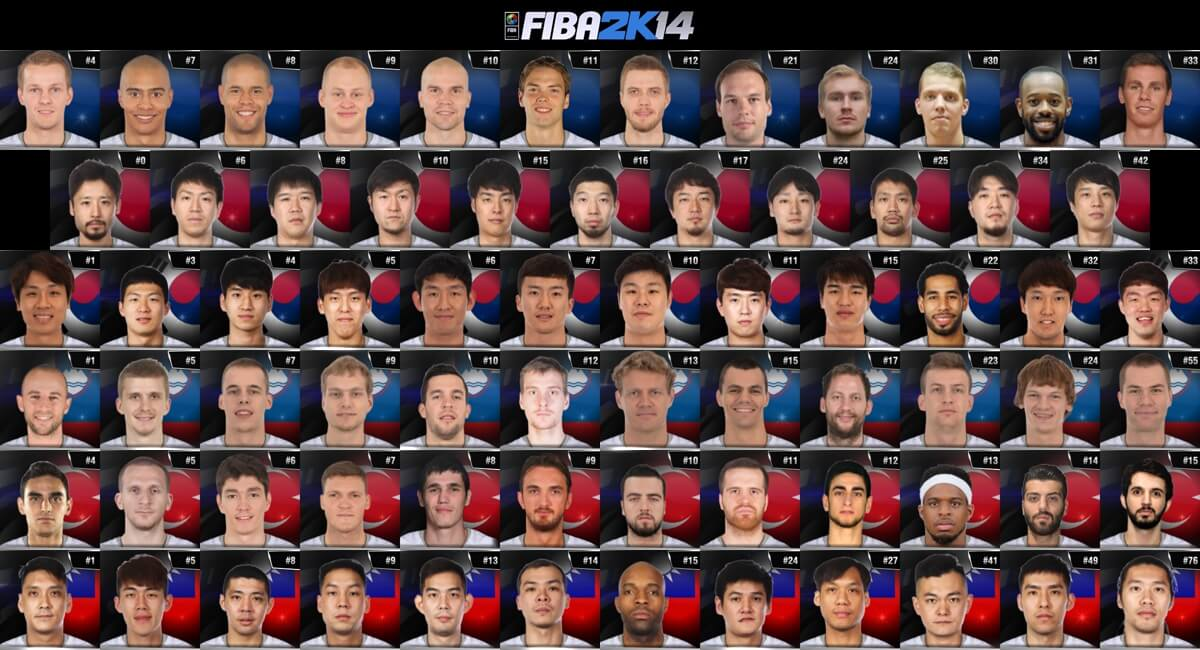 NBA 2k14 Portrait Mod : Universal Portrait Project v3.8