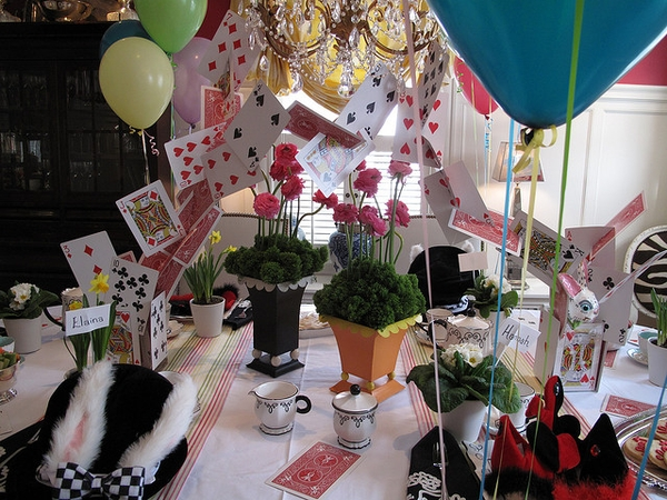 Shannon 39 s shanonigins mad hatter tea party inspiration - Mad hatter tea party decoration ideas ...