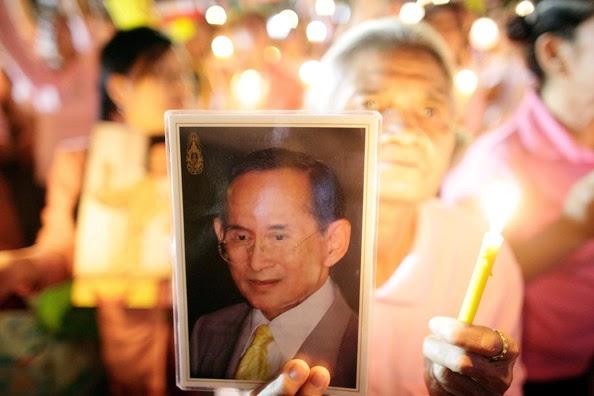 Voyager en Thaïlande - Informations pratiques - Image du roi Rama IX