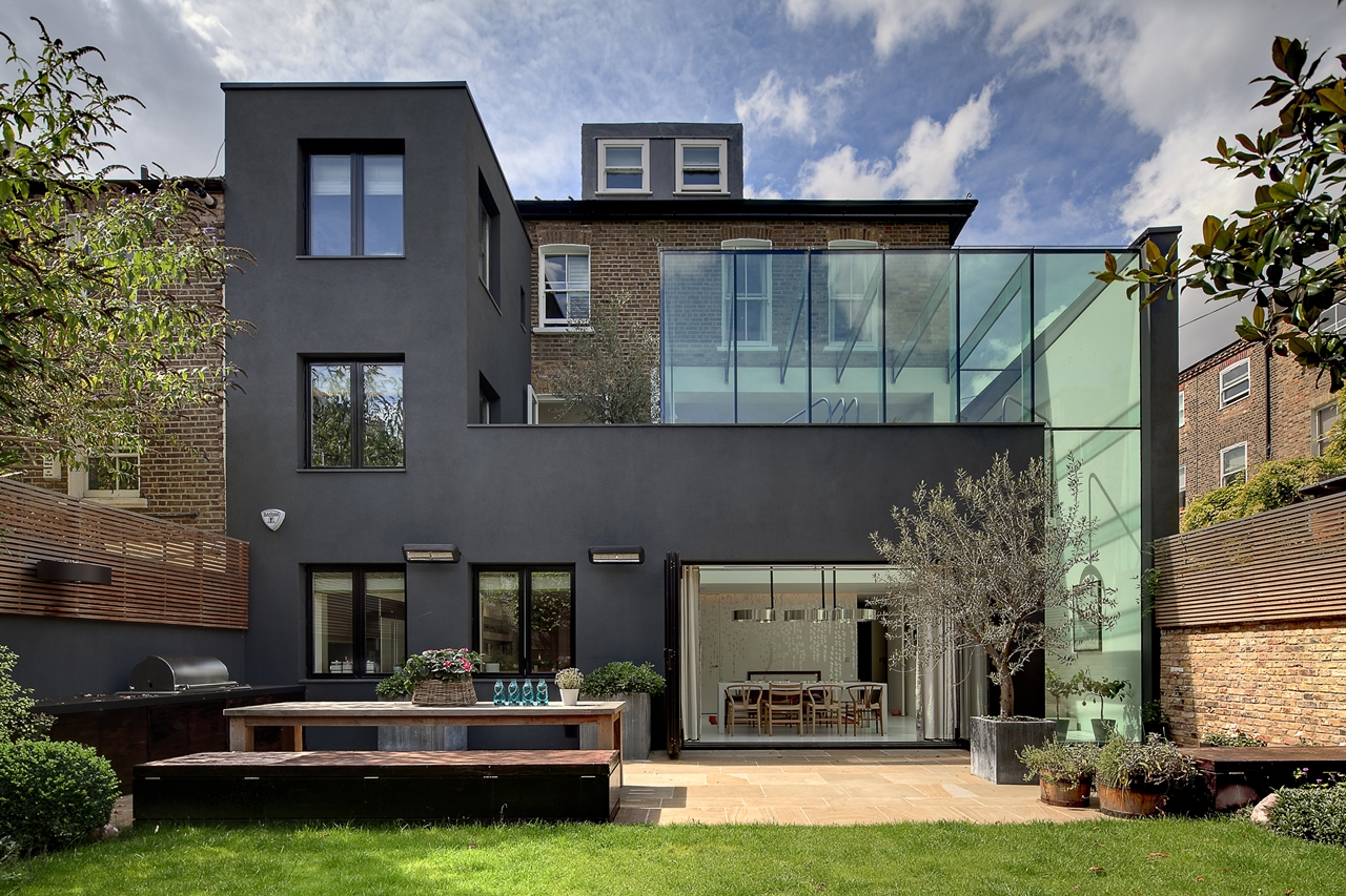 World of architecture modern london house souldern road residence by dos architects for Mordern house