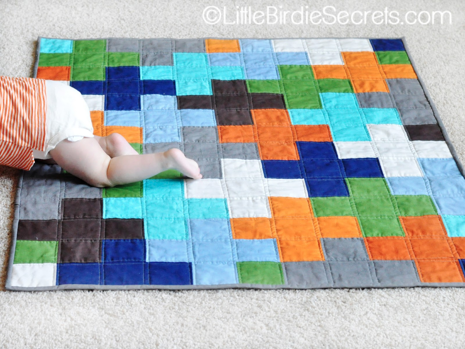 Free Plus Quilt Pattern Tutorial Little Birdie Secrets