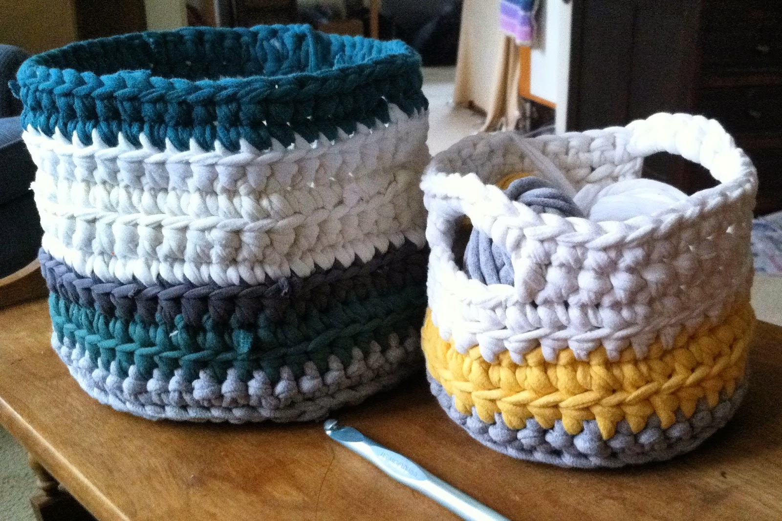 Fly the Coop Crafts: Tee Baskets