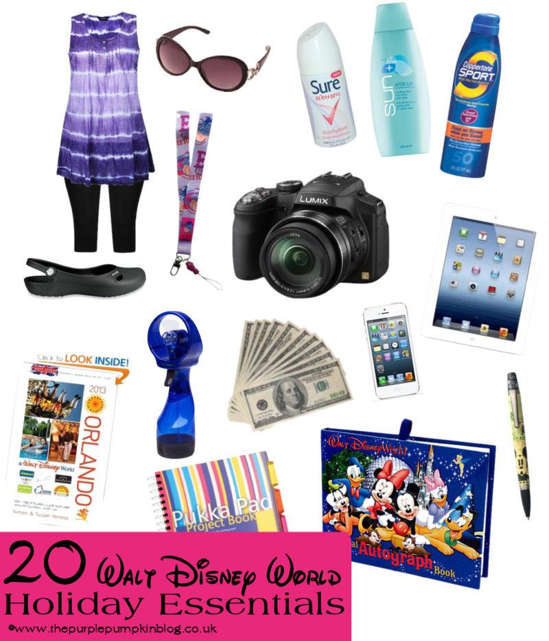 20 Walt Disney World Holiday Essentials