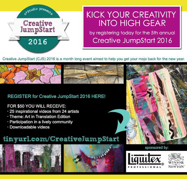 sign up for Creative JumpStart 2016 → tinyurl.com/CreativeJumpStart
